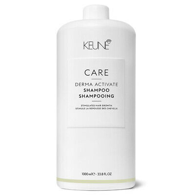 Keune Care Derma Activate Shampoo For Thinning Hair And Hair Loss 33.8 oz Liter