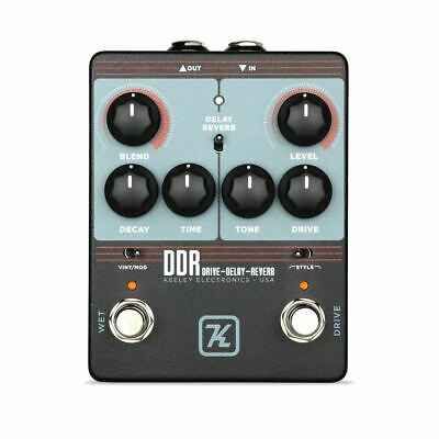 Keeley DDR Drive Delay Reverb Pedal *B-stock