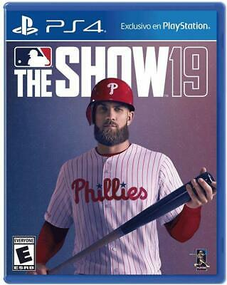 MLB The Show 19 (PlayStation 4) Brand NEW !!