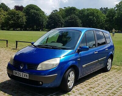 Renault scenic Dynamique 2.0L automatic petrol 7 seater 2005 only 55000 miles