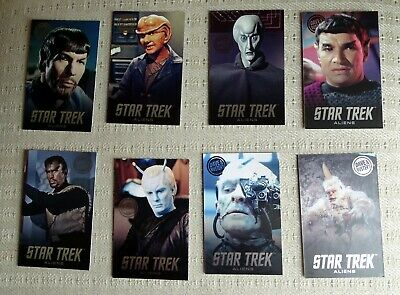 RARE Star Trek Complete Set Aliens Dave & Buster's Cards - Mugato + More
