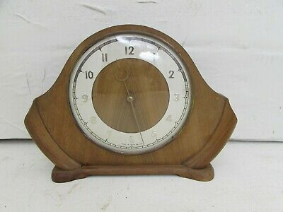 Art Deco 30 Hour Mantel Clock, Smiths Made In Great Britain, Fully Working