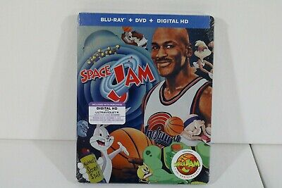 Space Jam 20th Anniversary (Steelbook + Blu-ray + DVD + Digital HD) BRAND NEW