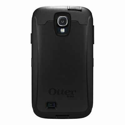 Genuine Otterbox Defender Case for Samsung Galaxy S4 w/ Belt Clip Holster Black