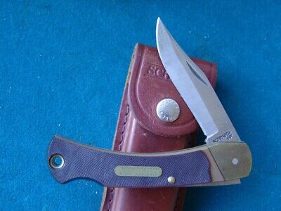 Schrade Usa Old Timer 6Ot Lockback And Sheath.excellent.