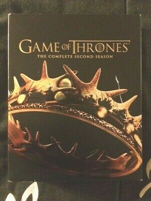 Game of Thrones complete second season Blu ray 5 disc set HBO bonus features