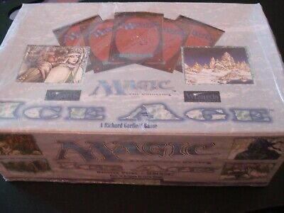 Magic the Gathering MTG Ice Age English Booster Box 36ct Factory Sealed New OOP