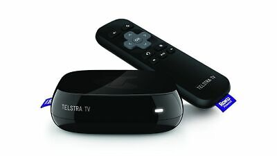 Telstra TV 4200TL Powered by Roku - Black -  in Box