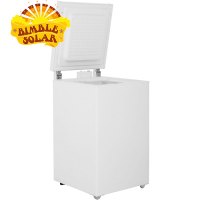 Solar Fridge Complete Kit 100L with Fridge Mode Freezer, Solar Panel, Battery, I