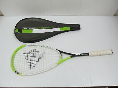 Dunlop Tempo Graphite Squash Racket with Head-cover