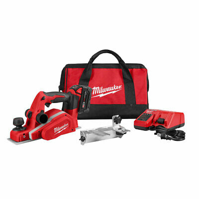 "Milwaukee 26-23-21 18v 3-1/4"" Planer Kit"
