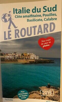 "Guide du Routard ""Italie du Sud"" - 2019"