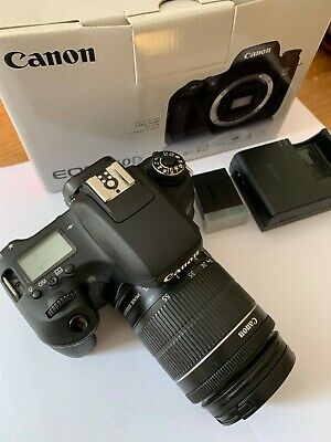 Canon EOS 760D 24.2MP Digital SLR Camera - Black with EFS 18 - 55mm 1:3.5-5.6