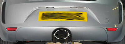 """6"""" x 4"""" Style Oval Exhaust Tailpipe Tip Trim Seat Leon Cupra FR Audi RS4 RS7 RS6"""