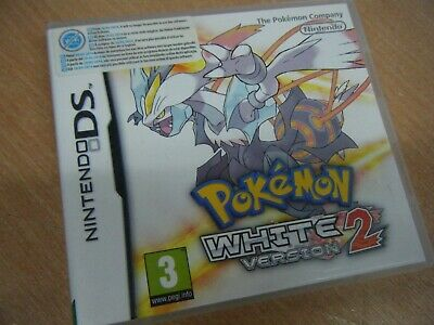 Pokemon White Version 2 Nintendo Ds 2Ds/3Ds Game Pal Tested