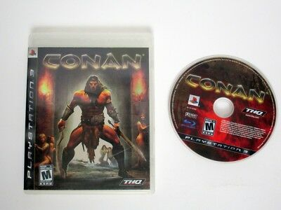 Conan game for Sony Playstation 3 PS3 -Game & Case