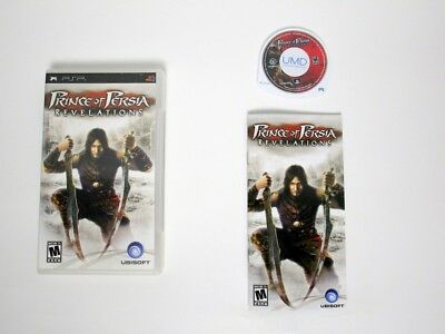 Prince of Persia Revelations game for Sony PSP -Complete