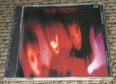 NEW SEALED 1982 - THE CURE PORNOGRAPHY Elektra CD Robert Smith ORIGINAL PRINTING