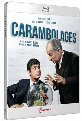 Blu ray Carambolages  De Funès, Michel Serrault Neuf sous cellophane