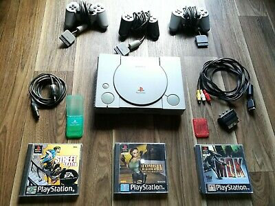 Sony Playstation 1 PS1 Topzustand |+ 3 Spiele, Controller, 2 Memory Cards,Kabel