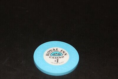 Rare Royal Inn $1 Casino Chip Las Vegas Mint Rated M