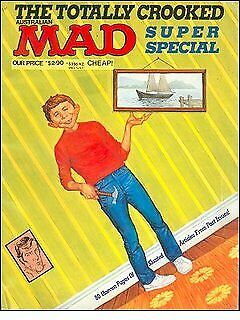 "Australian ""Mad - The Totally Crooked"" !!! FREE POSTAGE !!!"