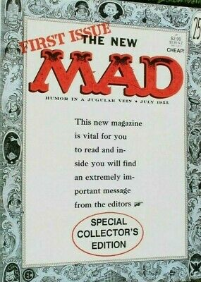 The New Mad - First Issue Collectors Edition  !!! FREE POSTAGE !!!