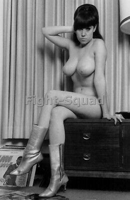 Picture Photo Erotic antique vintage art nude big breasts amazing woman 3394