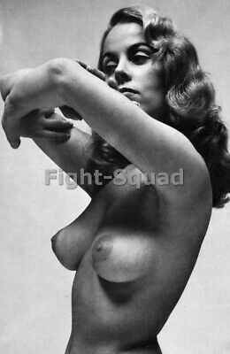 Picture Photo Erotic antique vintage art nude big breasts amazing woman 3396