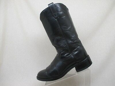 7965ffde4e8 MENS 8.5 D M Acme Black Leather Embroidered Dallas Cowboys Boots ...