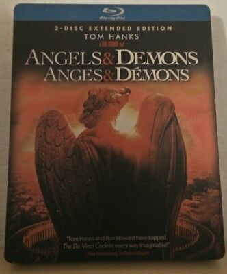 ANGELS & DEMONS EXCLUSIVE Blu ray STEELBOOK