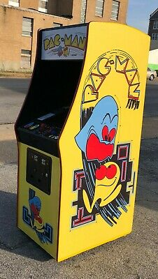 Pacman Arcade Video Game, Plays Ms Pacman Too, Lots Of new Parts, LCD Monitor