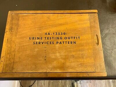 Vintage Urine Testing Outfit Services Pattern. 4a-13530