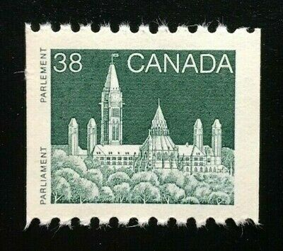 Canada #1194A MNH, Parliament Roll Coil Issue Definitive Stamp 1989