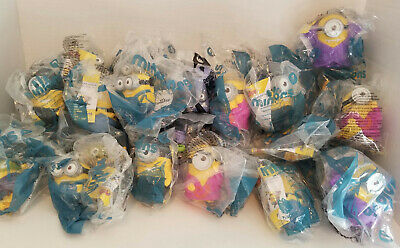 Lot of 35 McDonalds Minion Toys from Minions and Despicable Me 2