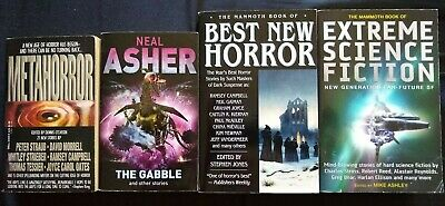 21-count Horror and Sci-Fi Book Collection (all F to LN Condition)
