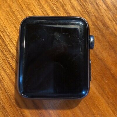 Apple Watch Series 2 42mm Nike+ Space Gr/Blk, NO power up NO band, Water Damage?