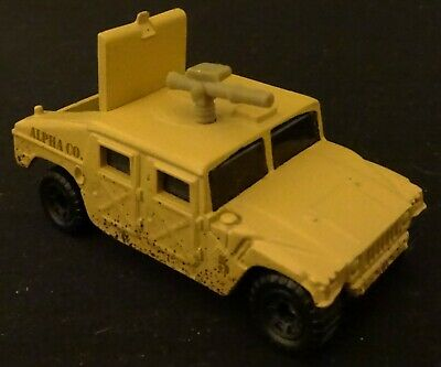 Matchbox 1998 Military Humvee 53 Hatch Opens - In Sealed display Case 16+ Years