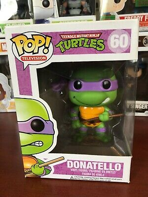 Funko Pop Television Turtles Ninja Donatello 60 New!