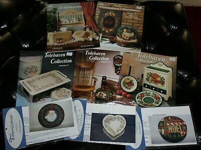 5 Tolehaven Decorative Painting Tole Books & 3 Patterns Gail Anderson