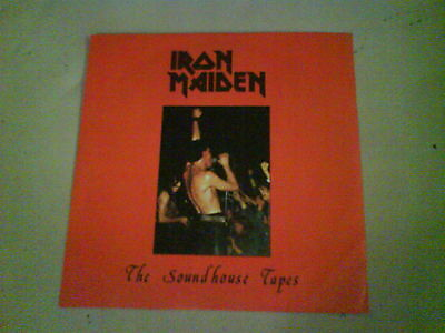 IRON MAIDEN The Soundhouse Tapes EX 1980 BLUE VINYL nwobhm