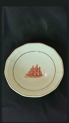 Wedgewood FLYING CLOUD Young America Cereal Fruit Bowl 1853 Georgetown Coll.