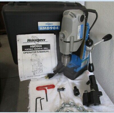 Hougen HMD904 Portable Magnetic Drill. Excellent condition.