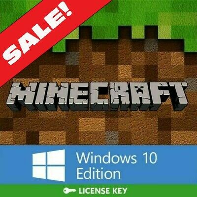 Minecraft: Windows 10 Edition (PC ONLY, KEY ONLY) DISCOUNTED GLOBAL