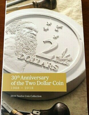 Australian $2 Two Dollar 2018 30th Anniversary Coin Folder only - no coins