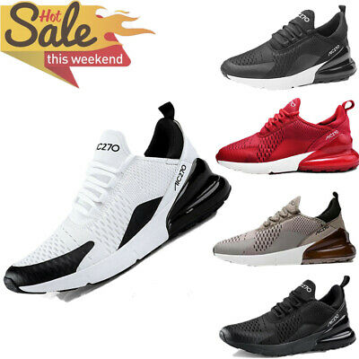 Mens Casual Walking Trainers Sneakers Breathable Fitness Mesh Shoes Sports 270