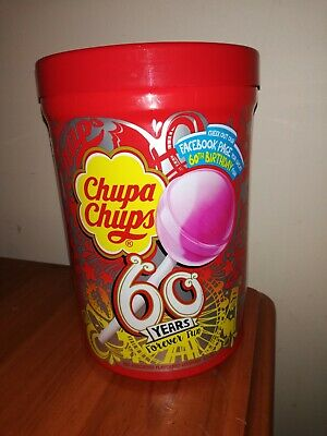 Chupa Chups Empty Container - Very Good Condition (As New)