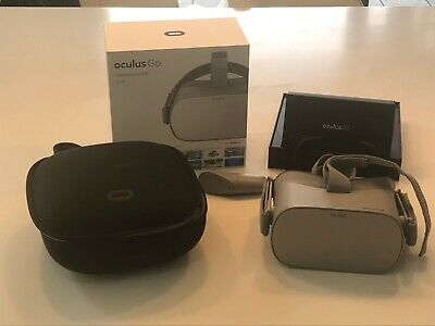 Oculus Go, Standalone Virtual Reality Headset VR, Controller, 32GB, ** CASE**