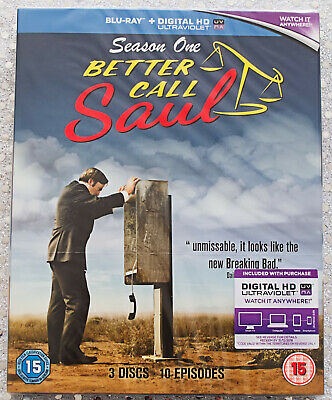 Blu-ray Better Call Saul Season One New and Sealed Series 1 Bob Odenkirk