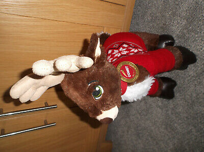 Build A Bear Comet Reindeer Soft Toy With Jumper & Collar